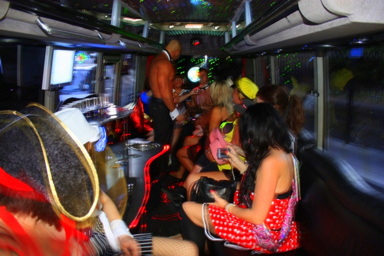 Two Touch Butlers 4 Hire Limo Bus launch (14)