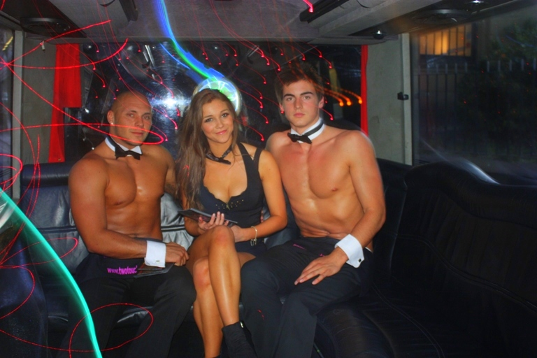 Two Touch Butlers 4 Hire Limo Bus launch (4)