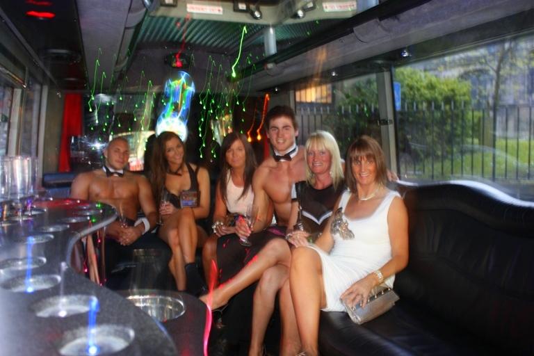 Two Touch Butlers 4 Hire Limo Bus launch (6)