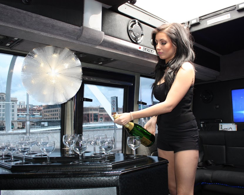 stag party Limo Bus and Two Touch Promotions Hostess (4)
