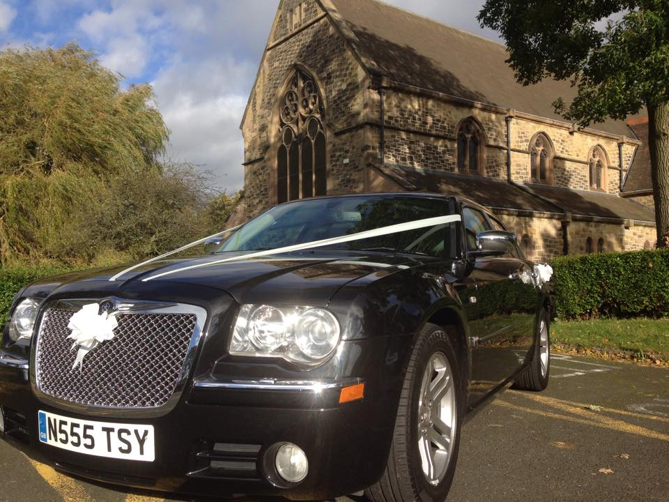Our fab chrysler 300 is avilable for special occasions weddings ect